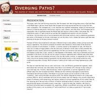 Diverging paths? The shapes and institutions in the medieval Christian and Islamic worlds