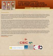 "International Conference ""Late Medieval: An Interfaith discourse"""