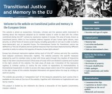 Transitional Justice and Memory in UE